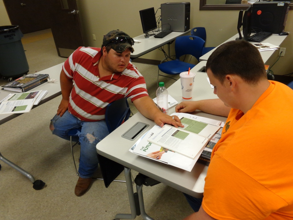 Dewayne and Zach Harvest Planning